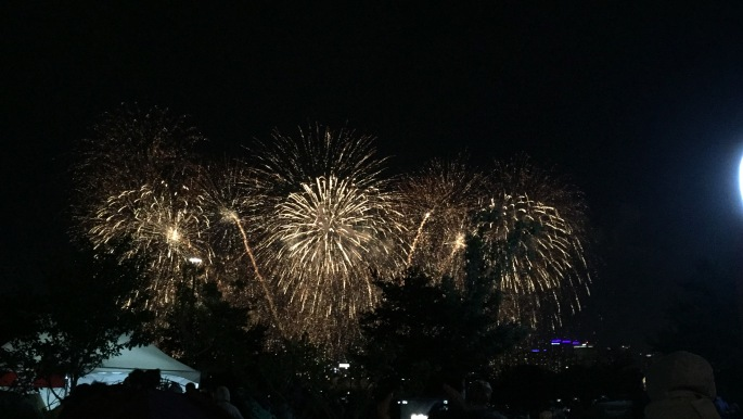 Spain's finale at the International Fireworks Festival in Seoul