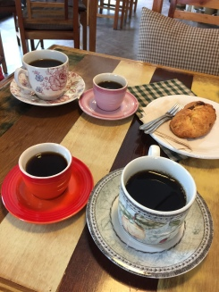 Coffee and scones at Hello, Stranger in Yeongtong, Suwon
