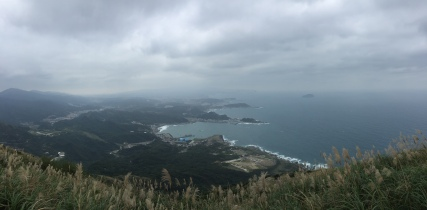 And a beautiful treasure of a shot from the top. Loved the coastline.