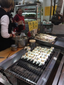 Yup, we ate snails. When in Taiwan... you have to comply with local standards, amiright?