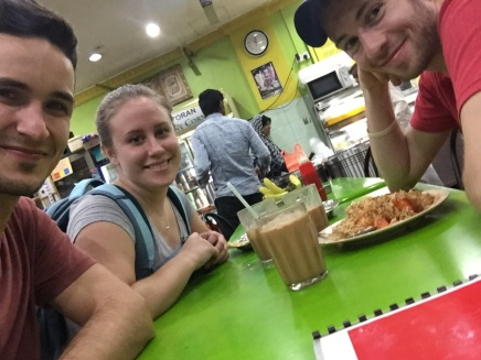 """Teh tarik literally translates to """"pulled tea."""" It is a milk tea with several spices such as cardamom, clove, or ginger added for extra taste. It should be served with a frothy top. It is the national beverage of Malaysia; as such, you must try it."""