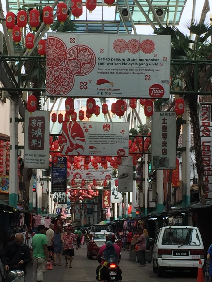 A view of Petaling Street during the day