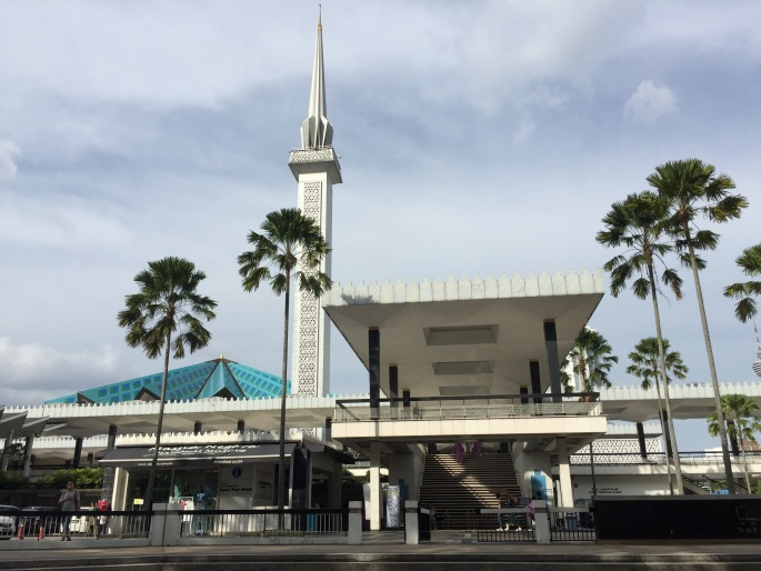 Masjid Negara Malaysia, or the National Mosque of Malaysia